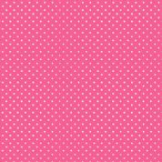 Spot by Makower UK - 5369 - White Spots on Candy Pink - 830_P65 - Cotton Fabric